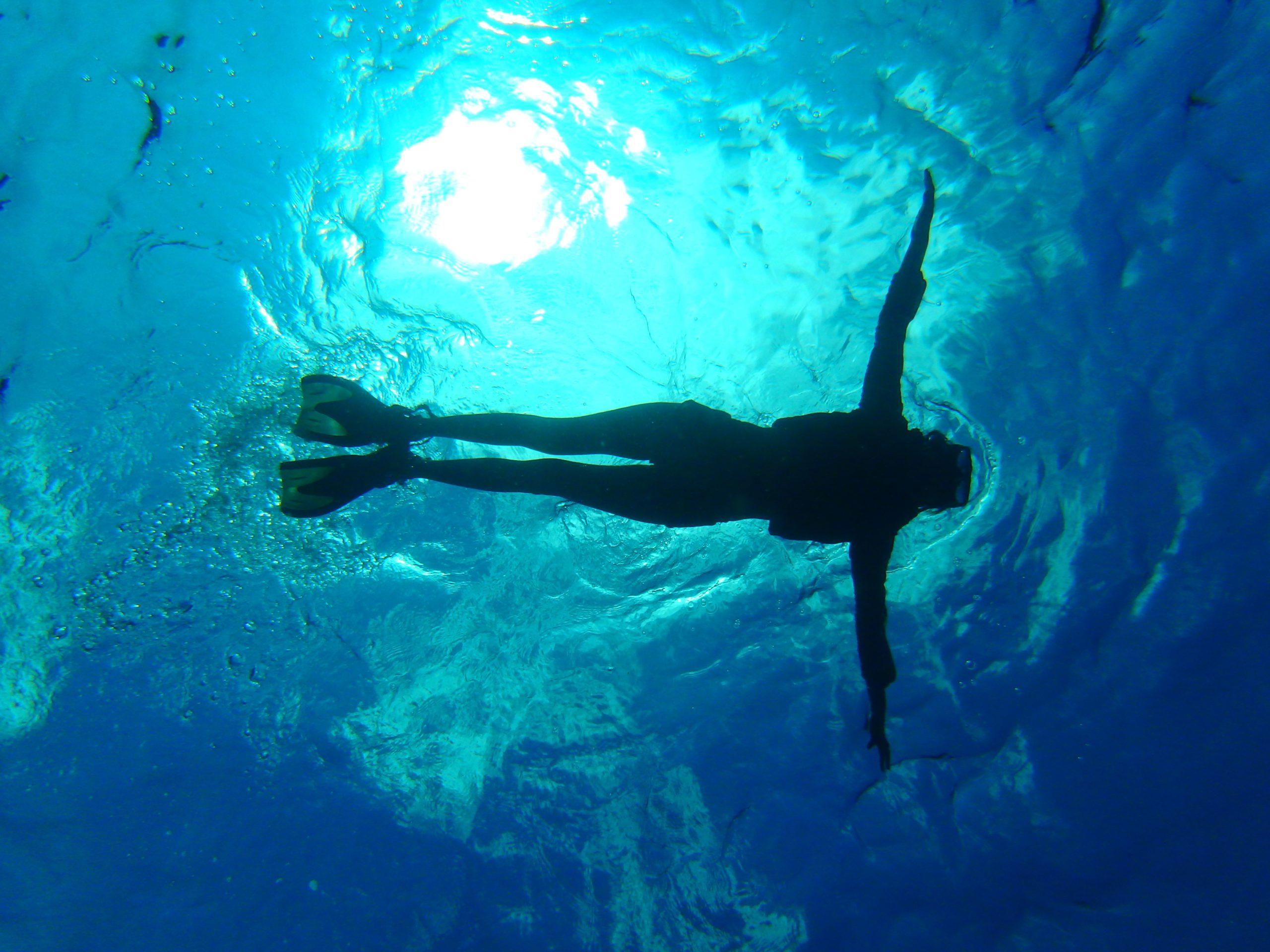 藍洞和美麗的大海浮潛體驗之旅